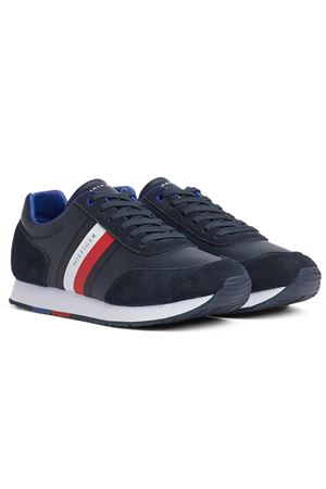 TOMMY HILFIGER Corporate Mix Flag Runner TOMMY | 12 | FM0FM02601DW5