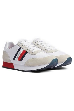 TOMMY HILFIGER Corporate Mix Flag Runner TOMMY | 12 | FM0FM02601YBS