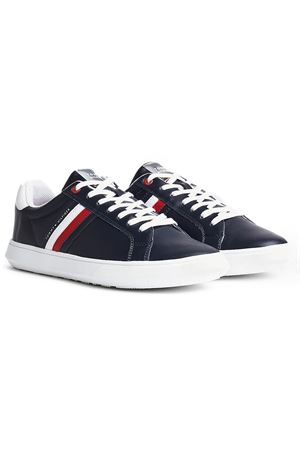 TOMMY HILFIGER Essential Leather Cupsole TOMMY | 12 | FM0FM02668DW5