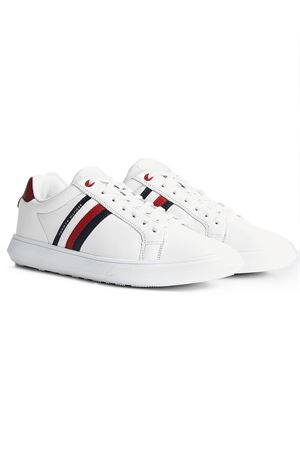 TOMMY HILFIGER Essential Leather Cupsole TOMMY | 12 | FM0FM02668YBS