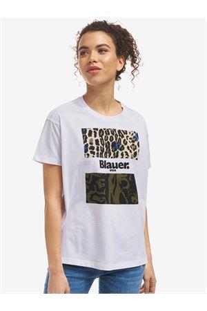 BLAUER Animalier t-shirt BLAUER | 8 | 21SBLDH02137004547100