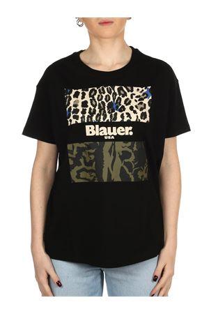 BLAUER Animalier-T-Shirt BLAUER | 8 | 21SBLDH02137004547999