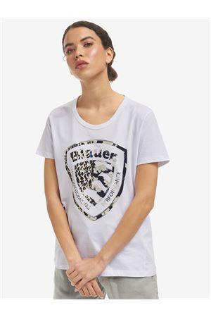 BLAUER shield t-shirt BLAUER | 8 | 21SBLDH02138004547100