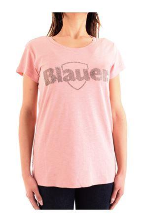 BLAUER Strass T-Shirt BLAUER | 8 | 21SBLDH02389005707537