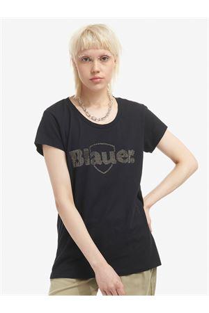 BLAUER Strass T-Shirt BLAUER | 8 | 21SBLDH02389005707999