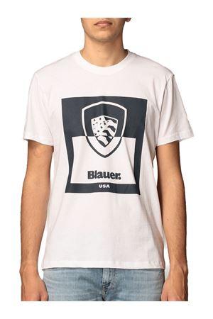 BLAUER Shield T-Shirt BLAUER | 8 | 21SBLUH02131004547100