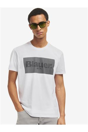 BLAUER T-shirt with Lenticular print BLAUER | 8 | 21SBLUH02133004547100