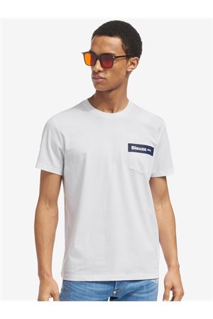 BLAUER T-Shirt mit Tasche BLAUER | 8 | 21SBLUH02136004547100