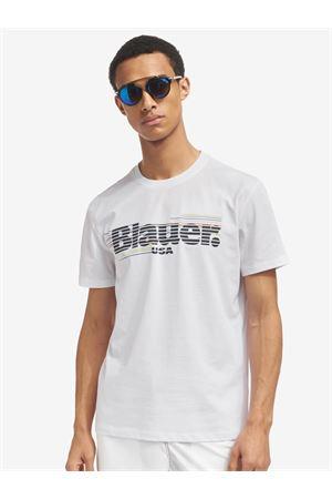 BLAUER gestreiftes T-Shirt BLAUER | 8 | 21SBLUH02334004547100