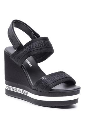 CALVIN KLEIN Wedge Jeans CALVIN KLEIN | -383055939 | YW0YW00122BDS