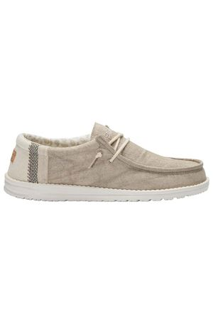 HEY DUDE Wally Linen loafers DUDE | 921336138 | 110791010
