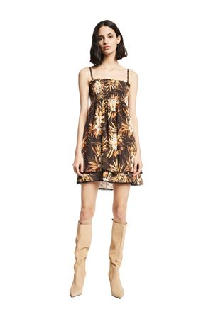 GAUDì JEANS Floral dress GAUDI JEANS | 50000033 | 111BD15026115061-01