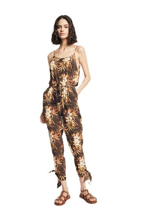 GAUDì JEANS Jumpsuit with tropical motif GAUDI JEANS | 19 | 111BD25038115061-01