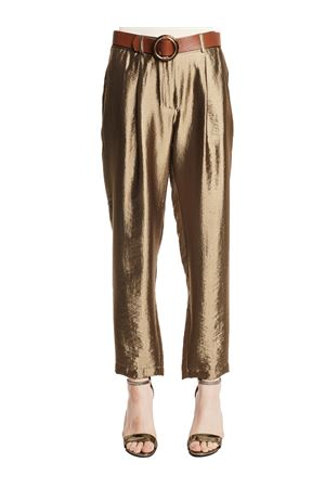 GAUDì JEANS Shiny trousers GAUDI JEANS | 50000017 | 111FD250153510