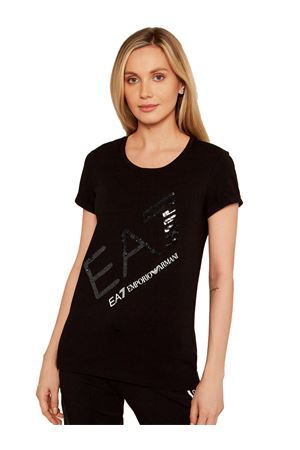 EMPORIO ARMANI T-shirt Paillettes GIORGIO ARMANI | 8 | 3KTT28TJ12Z0203