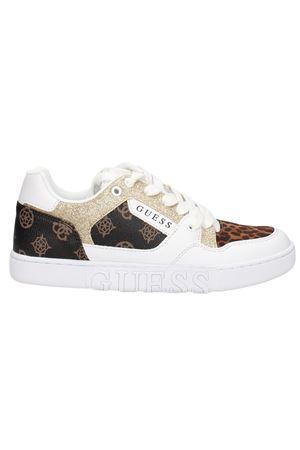 GUESS JULIEN sneaker GUESS | 12 | FL5JL2 FAL12WHIBR H005