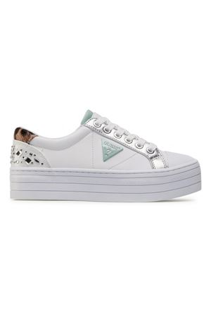 GUESS BRODEY sneaker GUESS | 12 | FL5YB3ELE12WHI