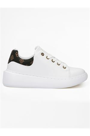 GUESS BRADLY sneaker GUESS | 12 | FL6B2RFAL12WHIBR N005