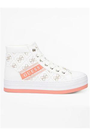 GUESS BARRON 4G sneaker GUESS | 12 | FL6BRRELE12WHITE