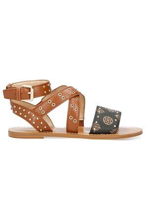 GUESS CEVIE sandal GUESS | 48092677 | FL6CVELEA03COGNA