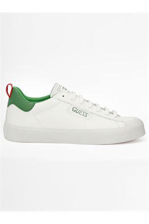 GUESS MIMA sneaker GUESS | 12 | FM5MIMLEA12WHGRE Y006