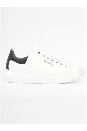 GUESS SALERNO sneaker GUESS | 12 | FM5SLRLEA12WHBLK Y006