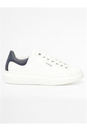 GUESS SALERNO sneaker GUESS | 12 | FM5SLRLEA12WHBLU Y006
