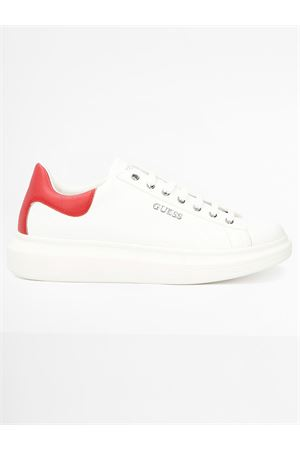 GUESS SALERNO Sneaker GUESS | 12 | FM5SLRLEA12WHIRE P004
