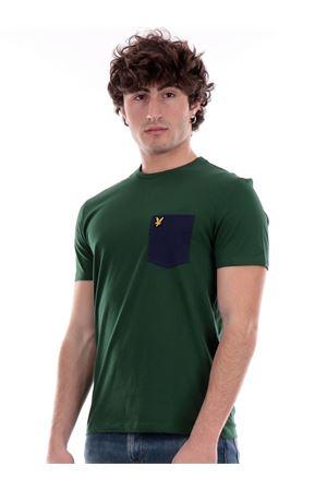 LYLE & SCOTT Contrast Pocket T-shirt LYLE E SCOTT | 8 | TS831VOGW511