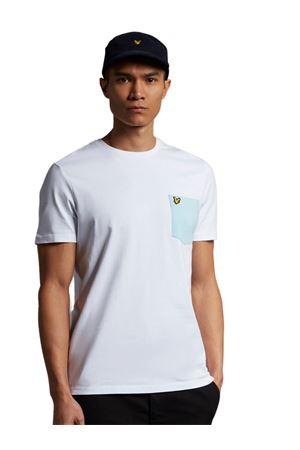 LYLE & SCOTT Contrast Pocket T-shirt LYLE E SCOTT | 8 | TS831VW362