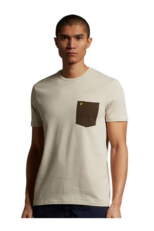 LYLE & SCOTT Contrast Pocket T-shirt LYLE E SCOTT | 8 | TS831VW433