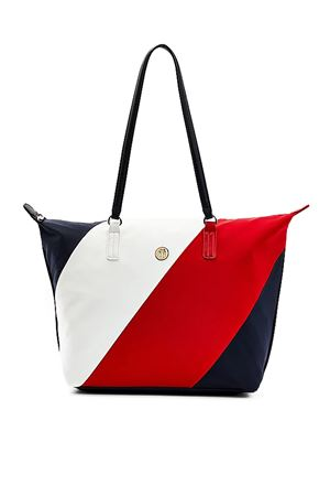 TOMMY HILFIGER Nylon Tote Bag TOMMY | 31 | AW0AW096900GY