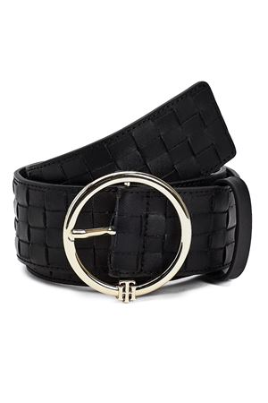 TOMMY HILFIGER Belt with Monogram TOMMY | 22 | AW0AW09810BDS