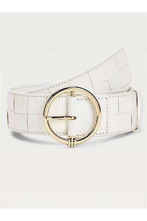 TOMMY HILFIGER Belt with Monogram TOMMY | 22 | AW0AW09810YCF