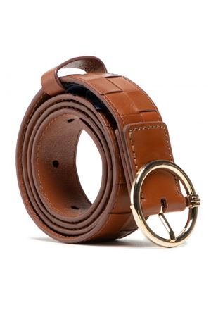 TOMMY HILFIGER Leather belt TOMMY | 22 | AW0AW09811GB8