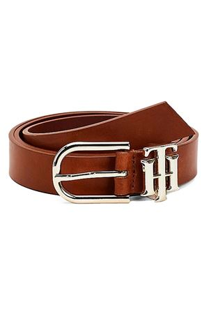 TOMMY HILFIGER Belt with monogram TOMMY | 22 | AW0AW09821GB8