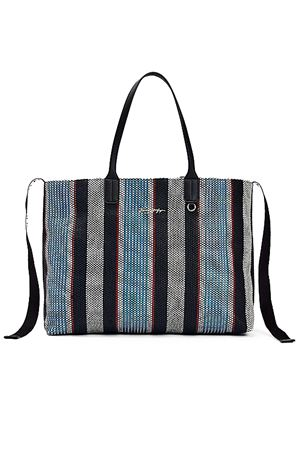 TOMMY HILFIGER Striped Bag TOMMY | 31 | AW0AW099540GY
