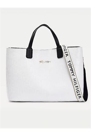 TOMMY HILFIGER SATCHEL ICONIC bag TOMMY | 31 | AW0AW09957YAF