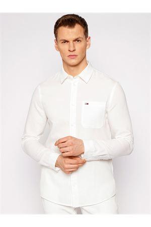 TOMMY JEANS Linen blend shirt TOMMY | 6 | DM0DM10144YBR