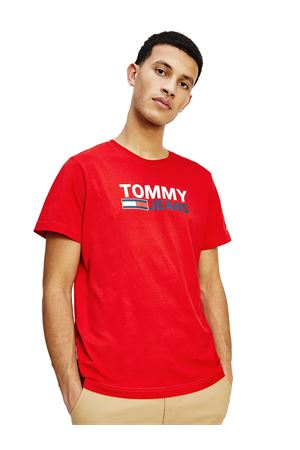 TOMMY JEANS Organic Cotton T-shirt TOMMY | 8 | DM0DM10214XNL