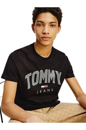 TOMMY JEANS T-shirt with 3D Logo TOMMY | 8 | DM0DM10226BDS