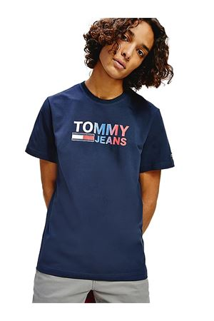 TOMMY JEANS T-shirt with Logo TOMMY | 8 | DM0DM10235C87