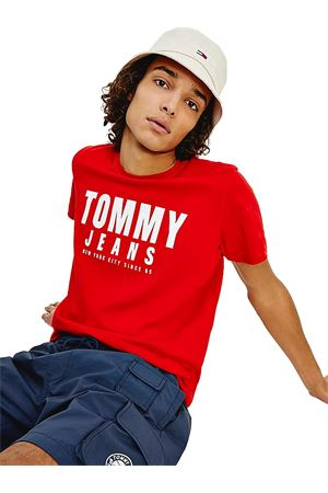 TOMMY JEANS Cotton T-shirt TOMMY | 8 | DM0DM10243XNL