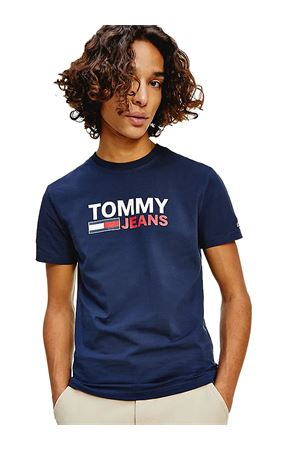 TOMMY JEANS T-Shirt Stretch  TOMMY | 8 | DM0DM10626C87