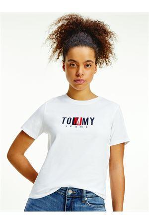 TOMMY JEANS T-Shirt mit Logo TOMMY | 8 | DW0DW09809YBR