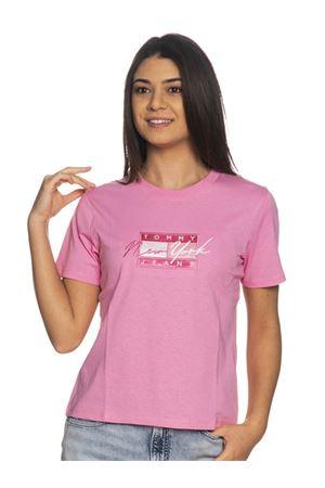 TOMMY JEANS T-Shirt mit Logo TOMMY | 8 | DW0DW09813TOU