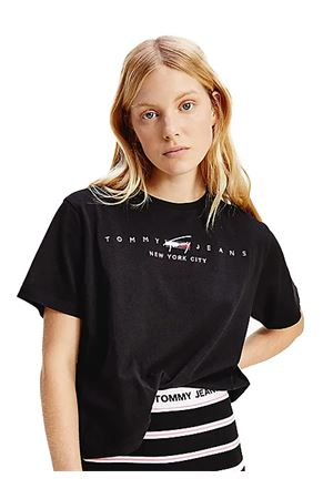 TOMMY JEANS T-shirt con logo TOMMY | 8 | DW0DW09923BDS