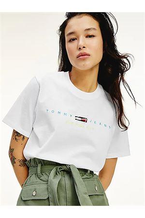 TOMMY JEANS T-Shirt mit Logo TOMMY | 8 | DW0DW09923YBR