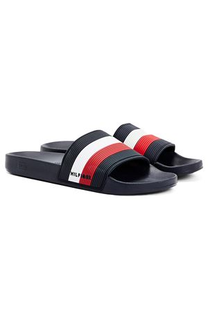 TOMMY HILFIGER Essential Iconic Slipper TOMMY | -2096985022 | FM0FM03375DW5