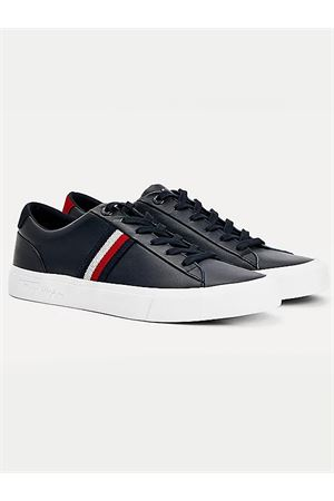 TOMMY HILFIGER Sneaker Leather  TOMMY | 12 | FM0FM03397DW5